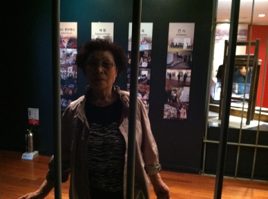 : nobody can keep this woman behind bars